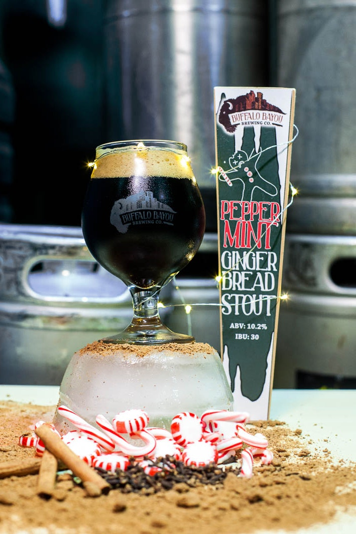 Peppermint Gingerbread Stout